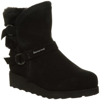 BearPaw Arielle Faux Fur Wedge Boot