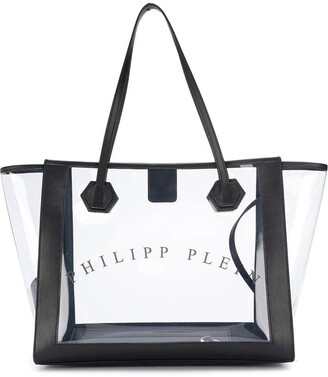 Philipp Plein Transparent Tote Bag