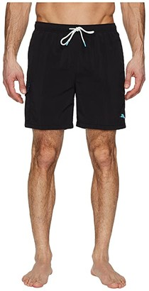 Tommy Bahama Naples Coast Swim Trunk (Black) Men's Swimwear