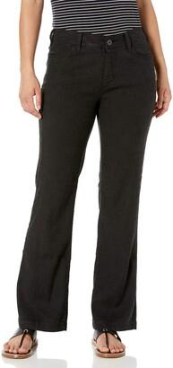 NYDJ Women's Petite Size Wylie Trousers in Stretch Linen