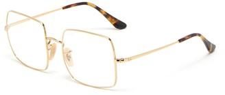 Ray-Ban x Team Wang metal frame rectangular optical glasses