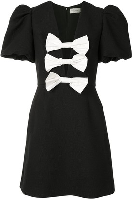 Rebecca Vallance Bow Mini Dress