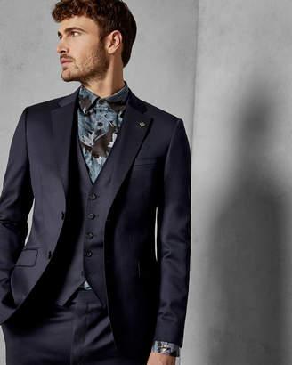 Ted Baker ARCFASW Debonair plain wool waistcoat
