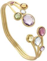 Marco Bicego Jaipur 18K Multi-Stone Cuff Bracelet