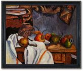 Overstockart Ginger Pot with Pomegranate and Pears 20'' x 24'' Thin Framed Canvas Wall Art