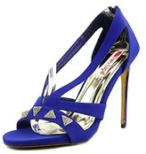 Two Lips Pyramid Women Blue Sandals.