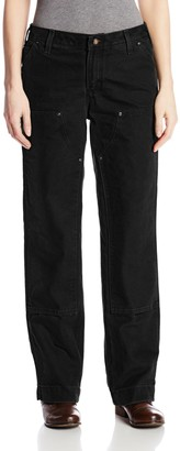 Carhartt Women's Relaxed Fit Sandstone Kane Dungaree Pant