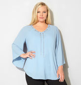 Avenue Chain Yoke Blouse