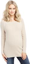 Motherhood High-low Hem Maternity Sweater