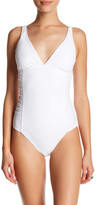 Amoressa Solid Story Xanadu One-Piece Swimsuit