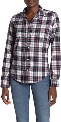 Frank And Eileen Barry Plaid Button Front Shirt