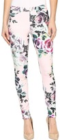 Hue Rose Twill Leggings Women's Casual Pants