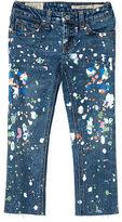 Ralph Lauren Paint-Splatter Skinny Jean