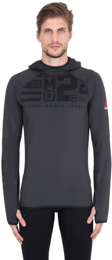 Reebok Dwr Training Stretch Sweatshirt