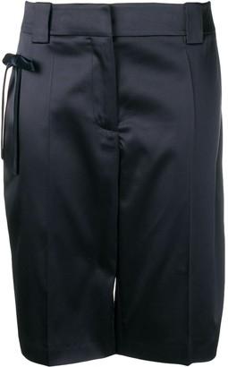 Prada bow Bermuda shorts