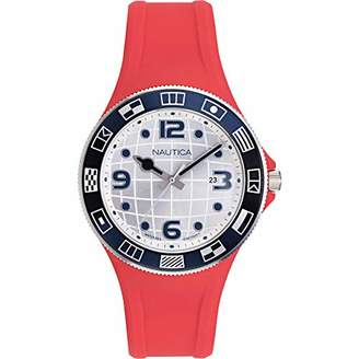 Nautica Men's NAPLBS902 Lummus Beach Silicone Strap Watch