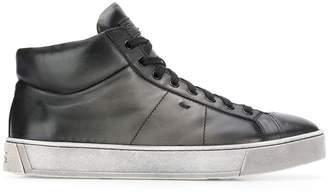 Santoni hi-top sneakers