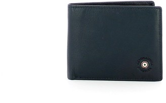 Aeronautica Militare Blue Leather Men's Bifold Wallet