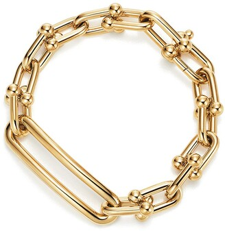 Tiffany & Co. City HardWear link bracelet in 18k gold, small