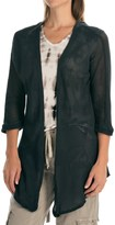 XCVI Hawthorn Cardigan Jacket - Open Front, 3/4 Sleeve (For Women)