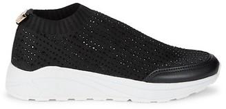 Roberto Cavalli Sport Slip-On Sneakers