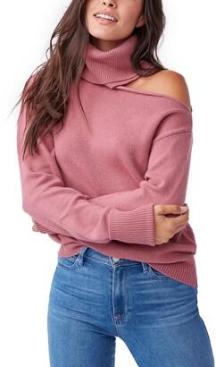 Paige Raundi Cold Shoulder Sweater