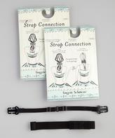 The Natural Black Bra-Converter Straps - Set of Two