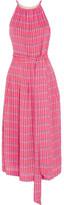 Vanessa Seward Delisisle Printed Voile Midi Dress - Pink