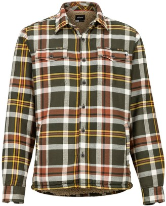 Marmot Men's Ridgefield Heavyweight Flannel Long-Sleeve Shirt