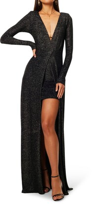 Ramy Brook Matilde Convertible Long Sleeve Dress