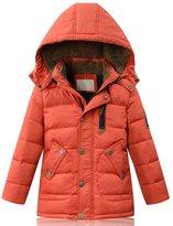 Pingora Winter Boys Girls Kids Down Puffer Coat with Hood