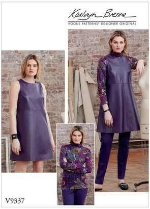 Vogue Women's Tunic Top and Trousers Sewing Pattern, 9337