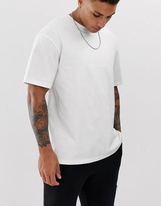 Topman oversized t-shirt in white