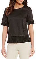 Antonio Melani Hilda Short Sleeve Blouse