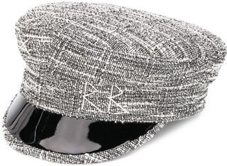Ruslan Baginskiy logo embroidered Breton hat