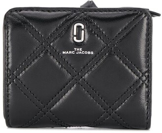Marc Jacobs mini The Softshot quilted wallet