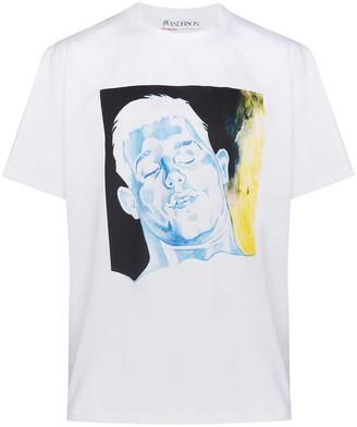 J.W.Anderson graphic-print crew-neck T-shirt