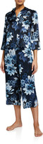 Samantha Chang Classic Printed Crop Pajama Pants
