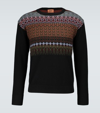 Missoni Crewneck knitted wool sweater
