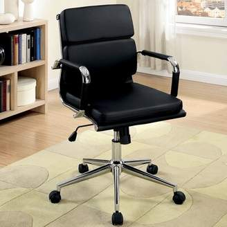 A&J Homes Studio Cancun Conference Chair A&J Homes Studio Upholstery Color: Black