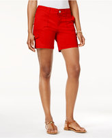 Style&Co. Style & Co Petite Zig-Zag Cargo Shorts, Only at Macy's