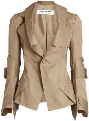 Junya Watanabe Khaki Trench Jacket