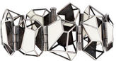 Bottega Veneta Enamel Geometric Bracelet