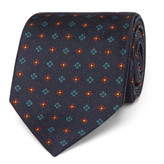 Drakes Drake's - 7cm Patterned Silk Tie