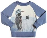 American Outfitters Motorcycle Print Cotton Sweatshirt