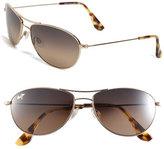 Maui Jim Women's Baby Beach 56Mm Polarizedplus2 Sunglasses - Gold/ Tortoise