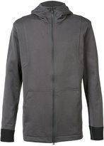 Y-3 soft zipped hoodie - men - Cotton/Polyester/Polyurethane - M