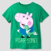 Peppa Pig Toddler Boy's George Pig T-Shirt - Green