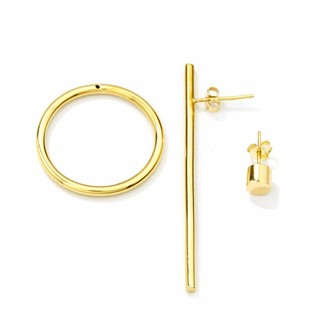 Mvdt Collection Bold Earring & Bold Ear Stud