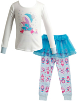 Dollie & Me Blue Skirted Bottom Set & Doll Outfit - Toddler & Girls